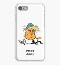 Donald Junkie iPhone Case/Skin