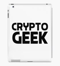 Crypto Geek Cryptocurrency HODL Gift Idea iPad Case/Skin