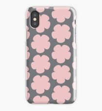 Pink Flower Minimalist | Pattern iPhone Case