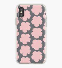 Pink Flower Minimalist | Pattern iPhone Case