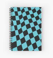 Chessboard Spiral Notebook