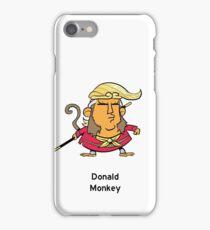 Donald Monkey iPhone Case/Skin