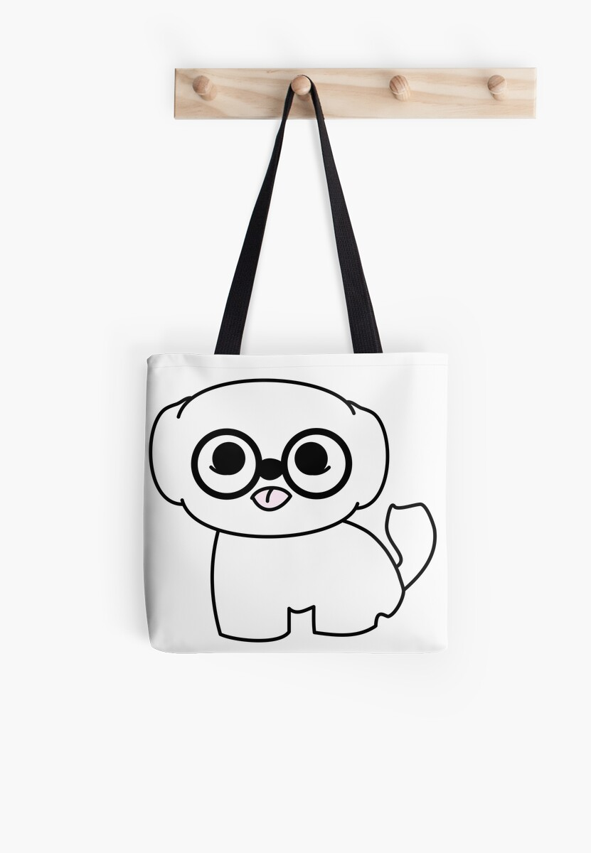 Shih Tzu Puppy with Glasses by meetminnie