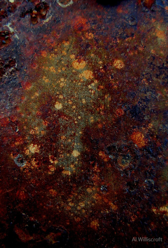 Rusted Space by Al Williscroft