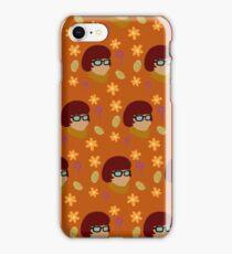 Velma Pattern - Orange iPhone Case/Skin