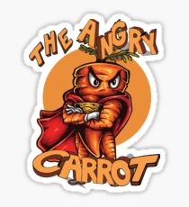 The Angry Carrot / Foodietoon Sticker
