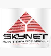 SKYNET - Neural Net-Based A.I Poster