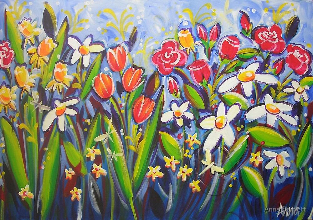 Toowoomba in Bloom by Anna Bartlett