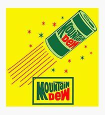 MOUNTAIN DEW 4 Photographic Print