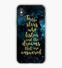 ACOMAF - To the Stars Who Listen And the Dreams that are Answered iPhone Case
