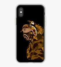 Draped In Bape (Black) iPhone Case