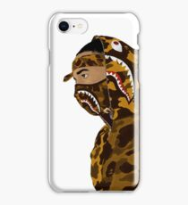 Draped In Bape (White) iPhone Case/Skin