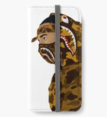 Draped In Bape (White) iPhone Wallet/Case/Skin