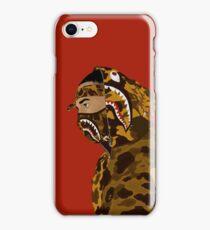 Draped In Bape (Red) iPhone Case/Skin