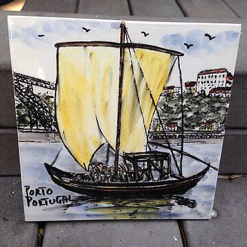 Portuguese Tile Caravel by samby