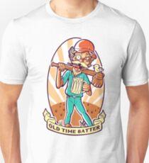 Drunkard Baseball PLAYER - Cinnabar RED T-Shirt