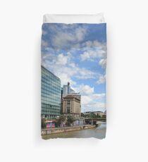 Donaukanal, Vienna Austria Duvet Cover