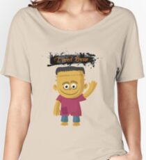 Happy Halloween Frankenstein Women's Relaxed Fit T-Shirt