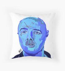 Karl Pilkington Illustration  Throw Pillow