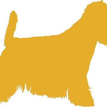 Yellow Westie Silhouette| Dogs by koovox