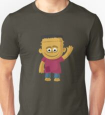Happy Halloween Frankenstein T-Shirt