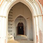 Old Church Entrence by Mubasher Kaleem