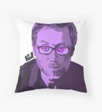 Stephen Merchant Illustration  Throw Pillow