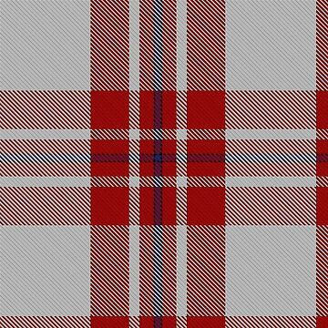 Red and White Scottish Tartan | Hipster Lumberjack look by koovox