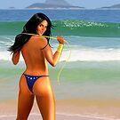 Wonderwoman Poster by TheFlash