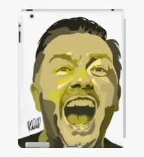 Ricky Gervais Illustration  iPad Case/Skin