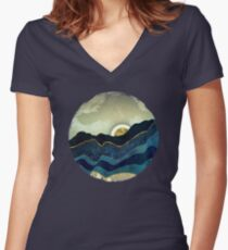 Post Eclipse Women's Fitted V-Neck T-Shirt
