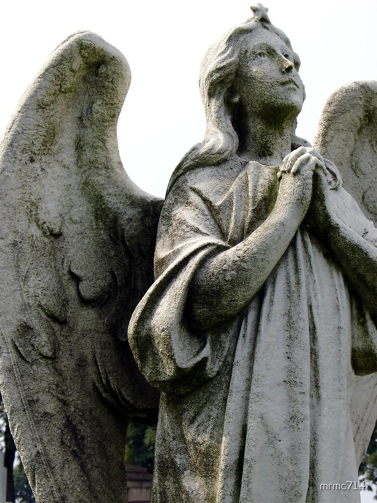 praying angel by mrmc714
