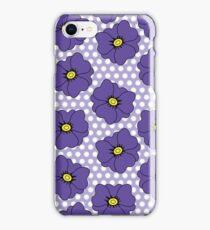 Little Violet Floral Scatter iPhone Case/Skin
