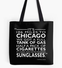 Its 106 Miles To Chicago Tote Bag