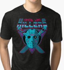 Crystal Lake Killers (NES Variant) Tri-blend T-Shirt