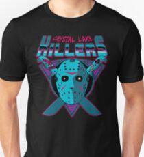 Crystal Lake Killer (NES Variante) Slim Fit T-Shirt