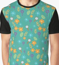 Mystery Inc Pattern (Teal) Graphic T-Shirt