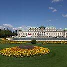 Upper Belvedere, 1040 Vienna Austria by Mythos57