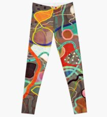 GPS NAVIGATION MAPS Leggings