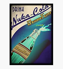 Fallout - Drink Nuka Cola Quantum! Photographic Print