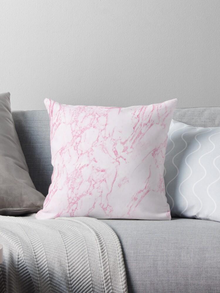 Pretty Pink Marble  by Leatherwood Design a/k/a kahmier