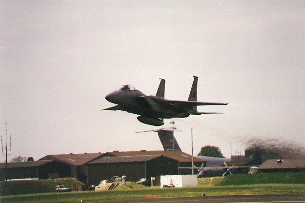 McDonnell Douglas F15 Eagle, USAF by chord0