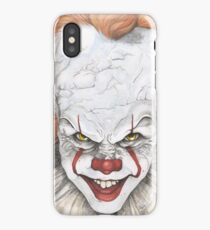 IT The Movie Pennywise The Clown Bill Skarsgard iPhone Case/Skin