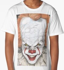 IT The Movie Pennywise The Clown Bill Skarsgard Long T-Shirt