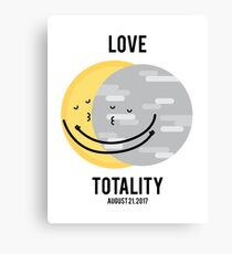 Love Totality Canvas Print
