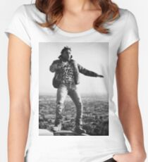 Kendrick God Women's Fitted Scoop T-Shirt