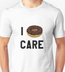 Ich Donut Care Lustig / Trendy / Girly / Hipster Emoji Meme Slim Fit T-Shirt