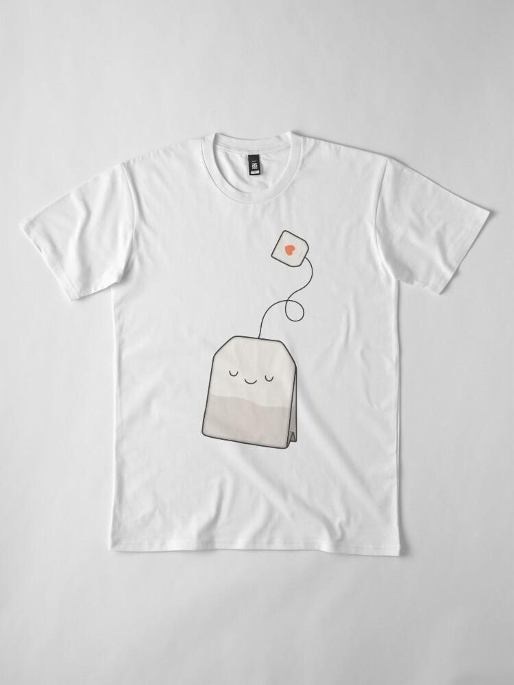 Alternate view of Tea time Premium T-Shirt