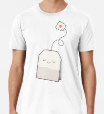 Camiseta premium para hombre La hora del té