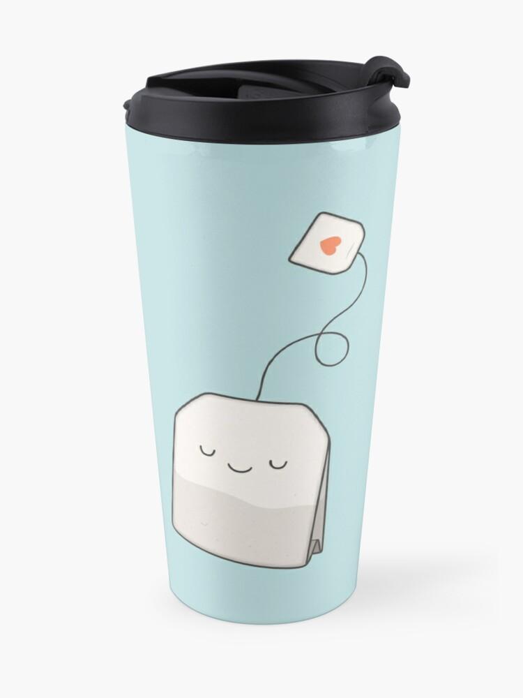 Alternate view of Tea time Travel Mug